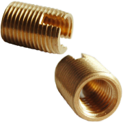 brass self threading insert