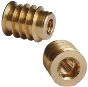 headed brass hex drive insert
