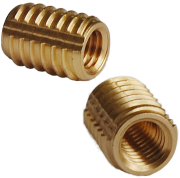 unheaded brass screw in insert