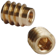 unheaded brass hex drive insert