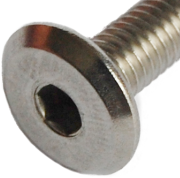 flathead connector bolt